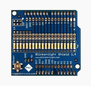 Blinkenlight Final Board Front