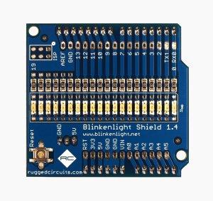 Blinkenlight Final Board Front