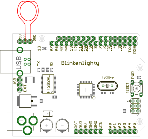 C10_DCF77_Generator_Blinkenlighty_Board
